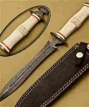 Bringer Of Frost Damascus Dagger