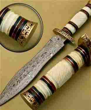 Dawn Bringer Damascus Dagger