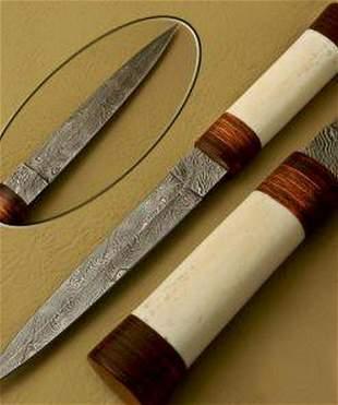 The Heart Breaker Damascus Dagger