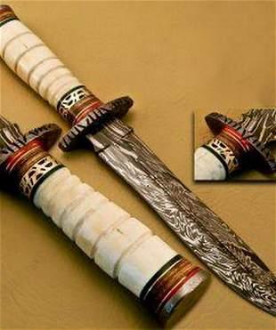 The Last Rites Damascus Dagger