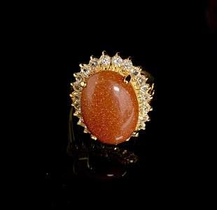 Dolphin Ore Size 7 5ct Semi-precious Oval Cut Stone in