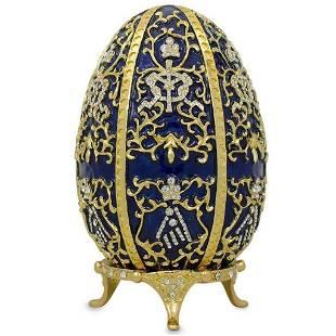 1895 Twelve Monograms Royal Russian Inspired Egg