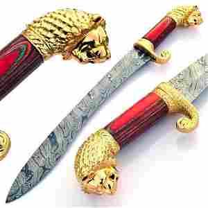 The SHEIKHS KUKRI Damascus Sword