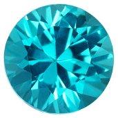 Natural Sri Lankan Extra Fine Round Cut Blue Apatite
