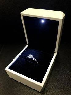 Ladies Semi-Precious CZ Diamond Mounted On 925 Sterling