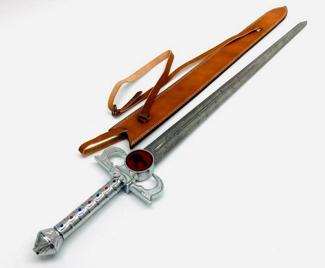 THUNDERCATS Lion-O's Sword Of Omens Damascus Steel