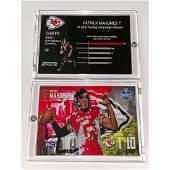 Mint PATRICK MAHOMES Pre-NFL Rookie Football Card