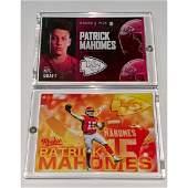 Mint NFL Draft Day PATRICK MAHOMES Rookie Football Card