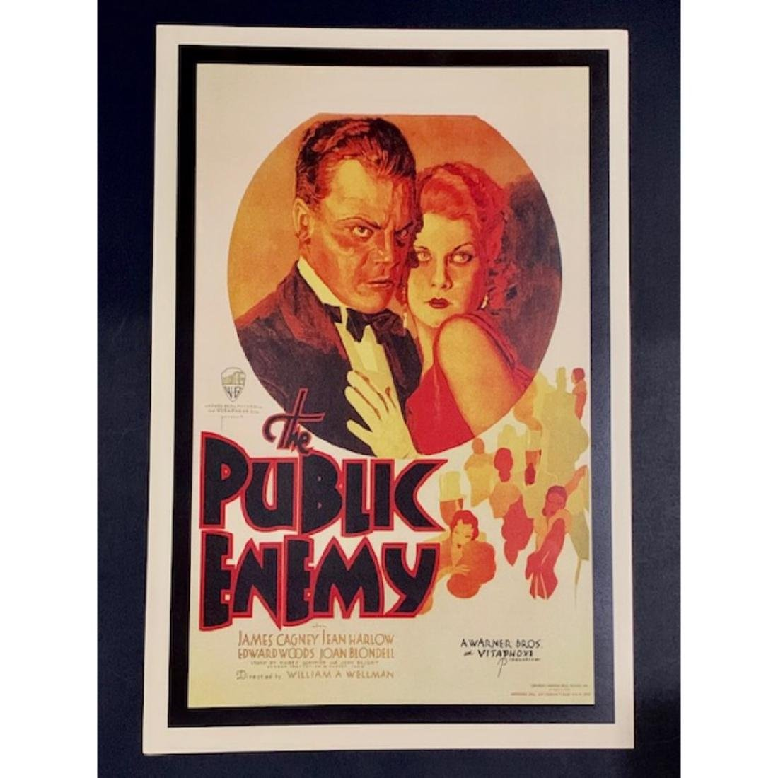 James Cagney in The PUBLIC ENEMY Movie Poster
