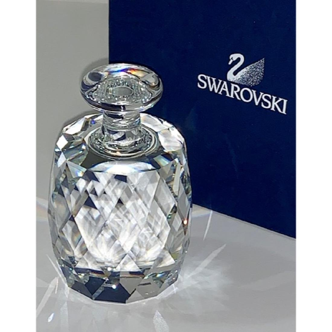 Brilliant SWAROVSKI Crystal Signed Paperweight Gorgeous