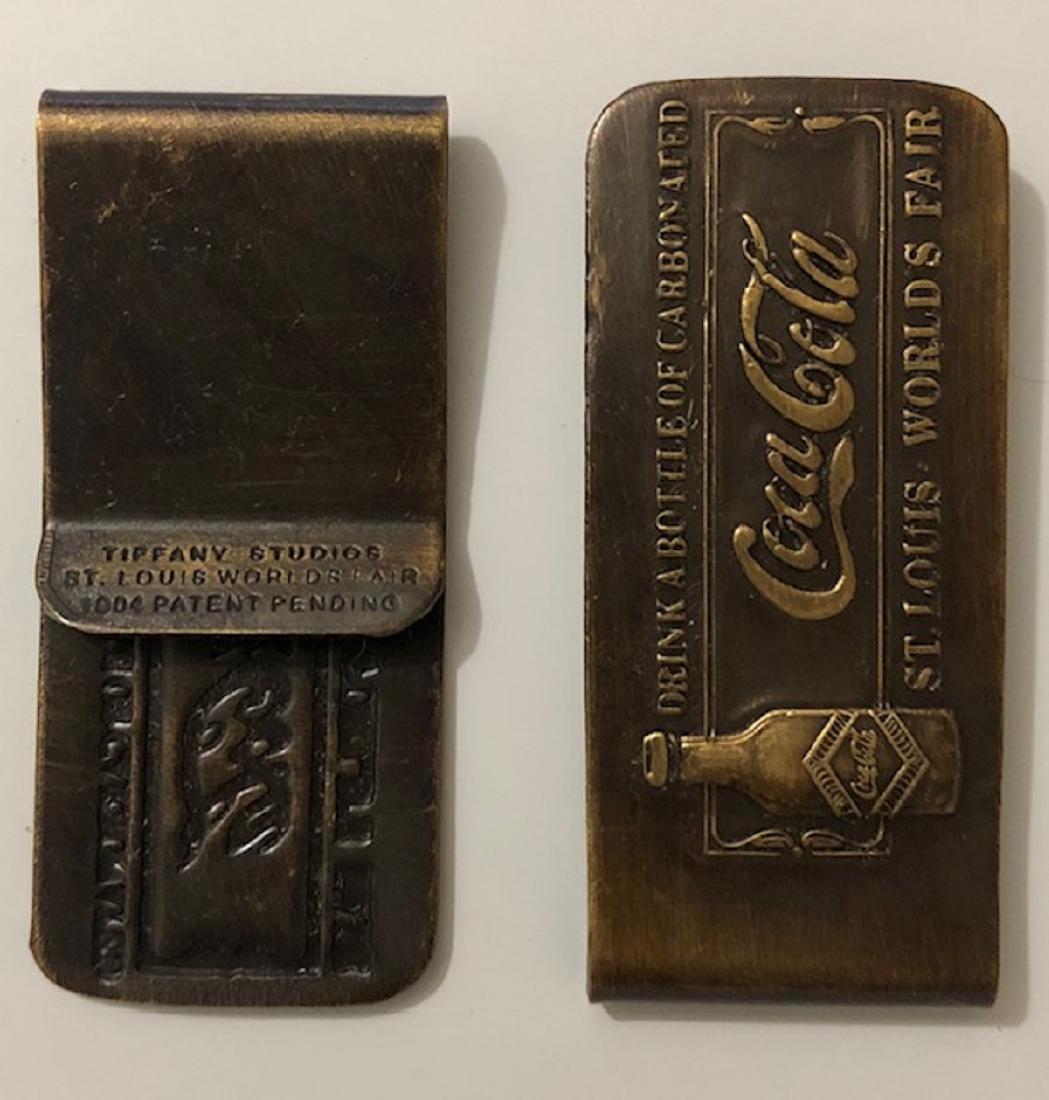 1904 St. Louis Worlds Fair COCA-COLA Money Clip