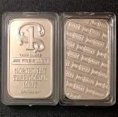 1 Troy Oz NW TERRITORIAL MINT .999 Fine Silver Bar