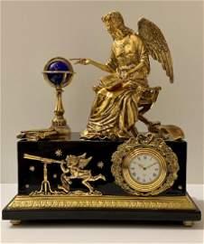 RARE Victoria & Albert Museum NEW AGE ANGEL Clock