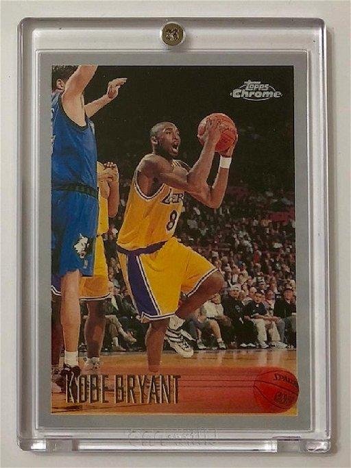 Kobe Bryant Topps Chrome Rookie Rp Basketball Card