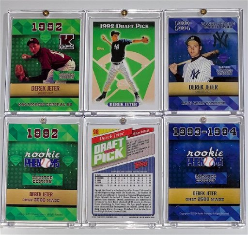 Mint Derek Jeter Rookie Baseball Cards Rare