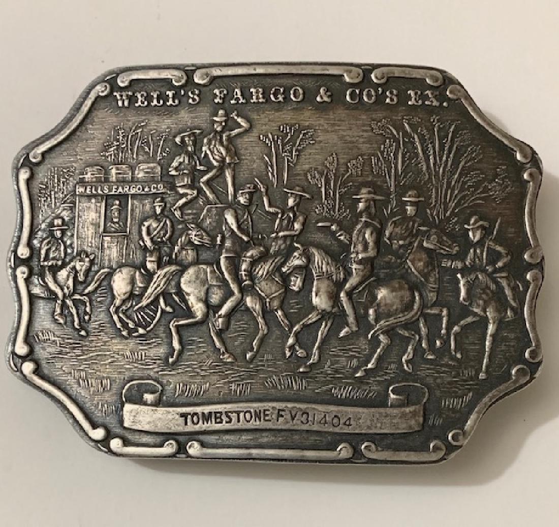 TIFFANY & Co. Wells Fargo & Co TOMBSTONE Belt Buckle