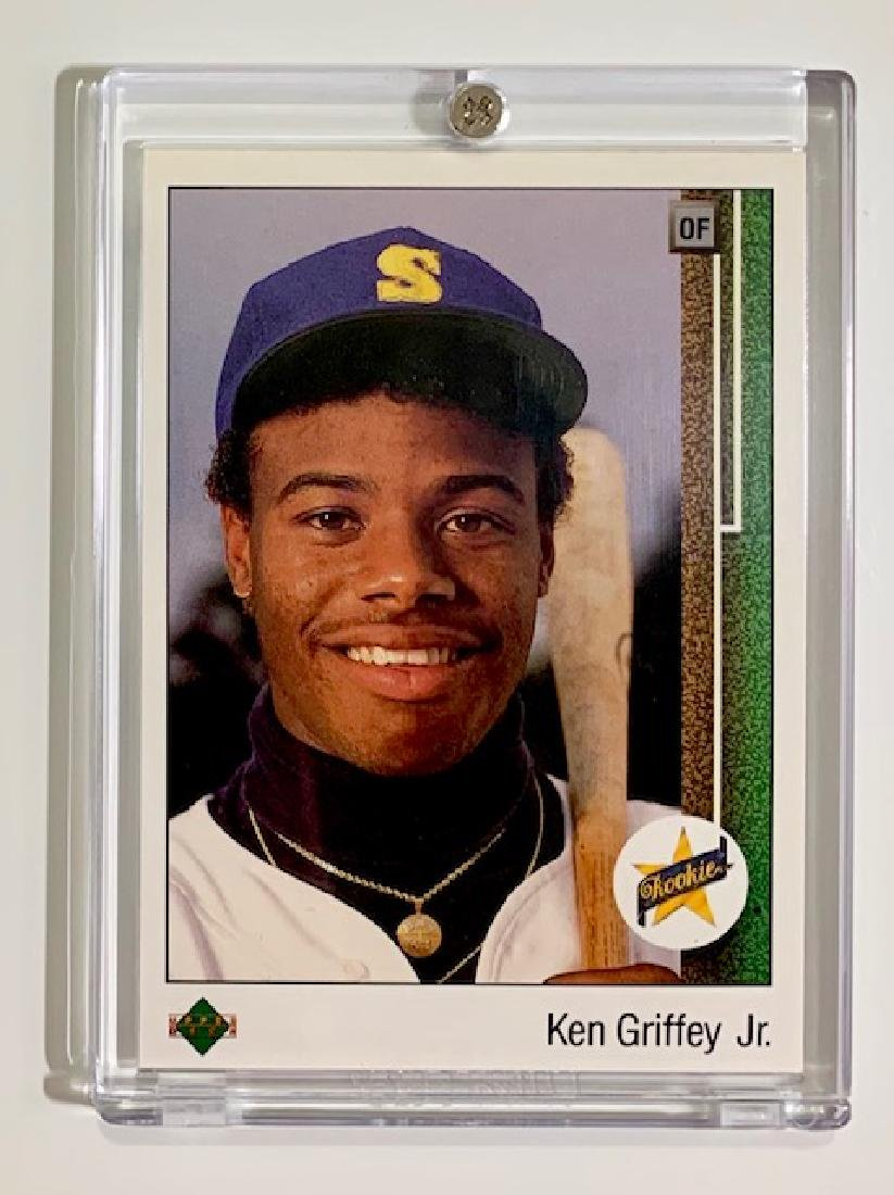 1st Ken Griffey Jr 1989 Upper Deck 1 Rookie Card