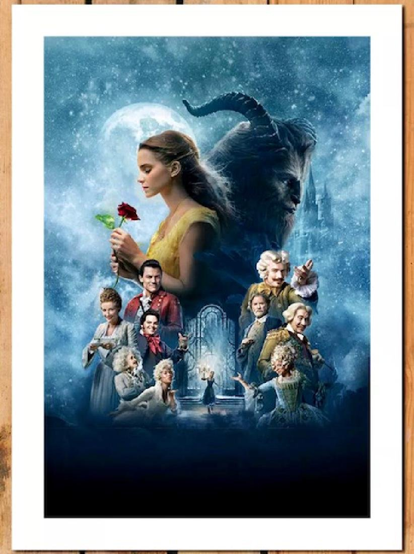 Disney BEAUTY and the BEAST Giclee Art Canvas Print