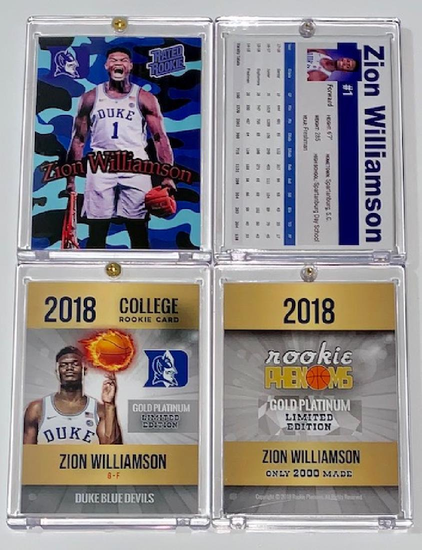 Phenom Zion Williamson Rookie Basketball Cards