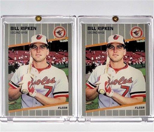 Error Fuck Face Whiteut Billy Ripken Baseball Card