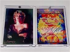 Rare MARILYN MONROE Artist Signed Giclee Art Card