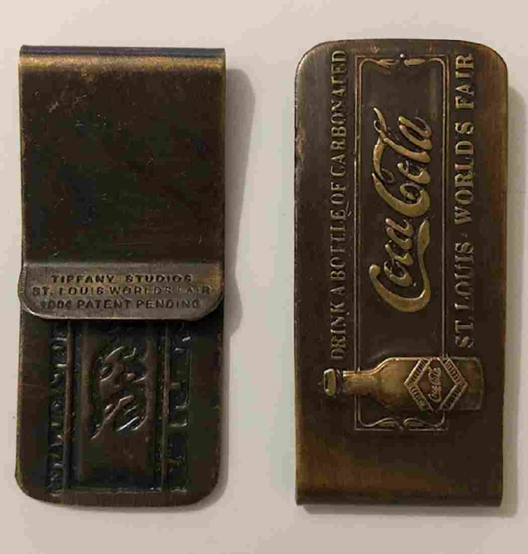 TIFFANY 1904 St. Louis Worlds Fair COCA-COLA Money