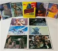 10 Original 1980 Topps STAR WARS Giant Photo Cards