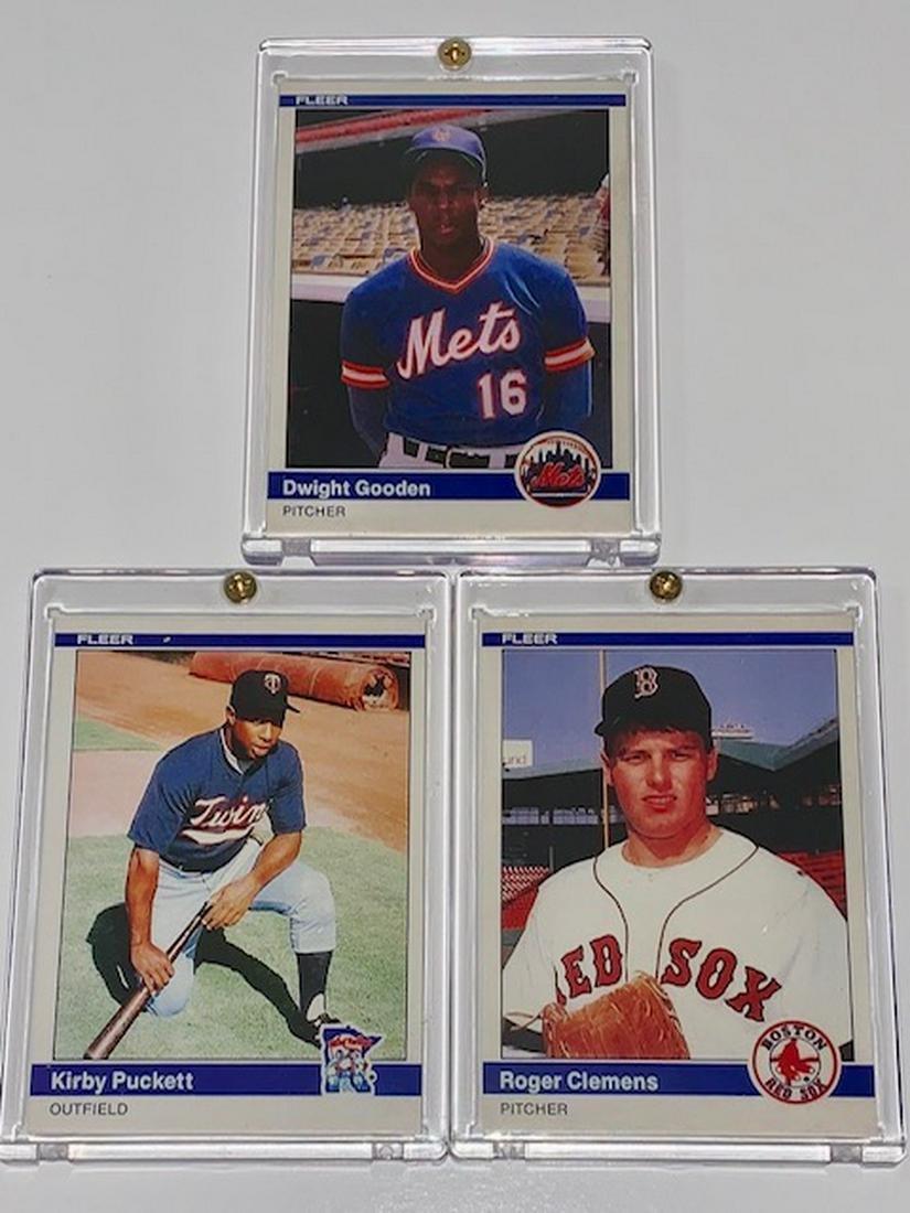 R Clemenspuckettgooden Rp Rookie Baseball Cards