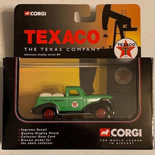 CORGI Toys Die-Cast TEXACO Chevy Salt Pick-Up Truck