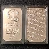 1 Troy Oz NORTHWEST TERRITORIAL MINT .999 Silver Bar