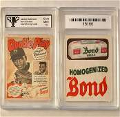 JACKIE ROBINSON Bond Bread Advertising Baseball Card