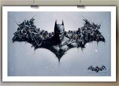 Awesome BATMAN Arkham Originals Print Art on Canvas