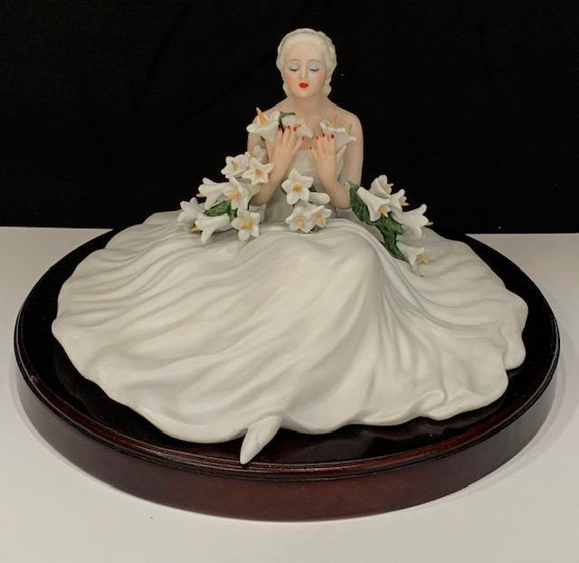 Rare LTD Edition Signed LOUIS ICART Porcelain Figurine