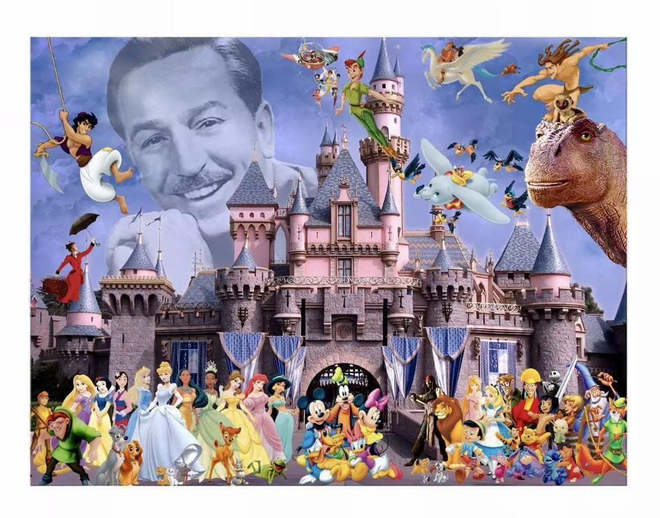 Walt Disney/Mickey Mouse and Friends Canvas Art Print