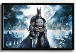 Awesome BATMAN The Dark Knight Art Print on Canvas