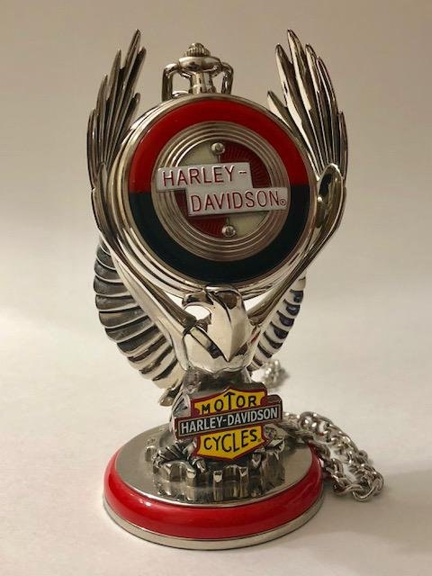 VTG Official HARLEY DAVIDSON Motorcycles Pocket Watch