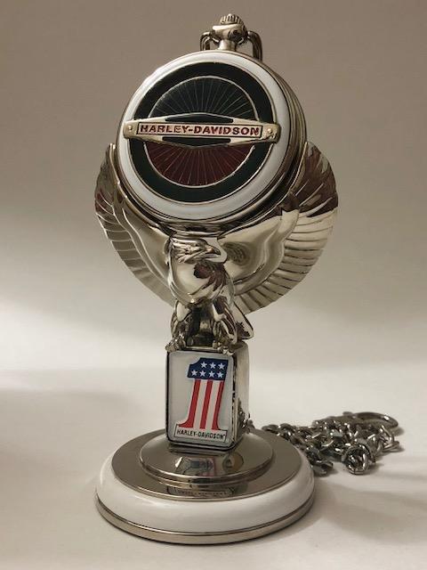 VTG Official HARLEY DAVIDSON Motorcycles Pocket Watch