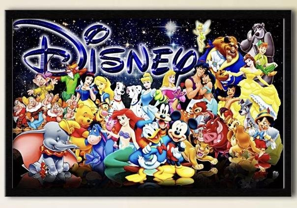 Disney Mickey Mouse and Friends Canvas Print 12 X 20