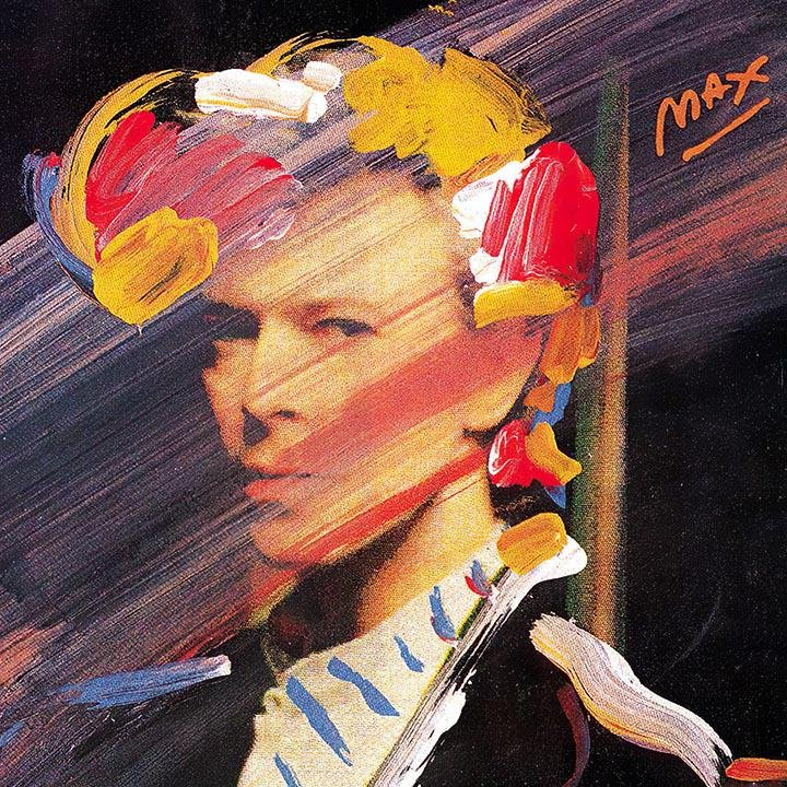 David Bowie Art on Canvas Print by   PETER MAX