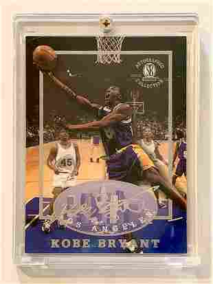 KOBE BRYANT Autograph Collection Rookie Basketball Card