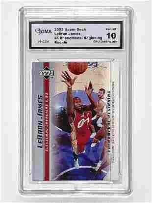 Gem 10 LEBRON JAMES 2003 Rookie Basketball Card