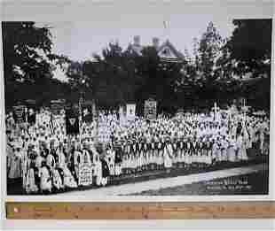 1931 KKK/Ku Klux Klan Rally Card Stock Photo/Poster