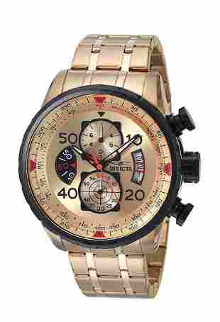 New INVICTA Aviator Mens Watch / Awesome