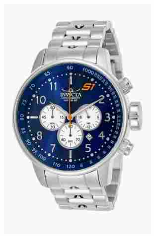 New INVICTA / S1 Rally Blue Faced Mens Watch