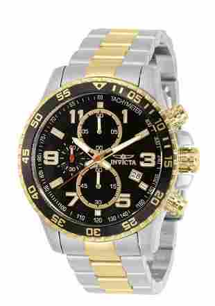 New INVICTA Specialty Two Tone Mens Watch