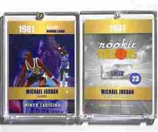 MICHAEL JORDAN Rookie Phenoms Basketball Card