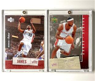 LEBRON JAMES Upper Deck Rookie Debut Basketball Cards
