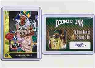 LEBRON JAMES Custom & Signature Rookie Basketball Cards