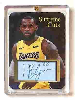 LEBRON JAMES Pre-Production Sample Basketball Card