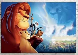 Walt Disney The LION KING Canvas Art Print